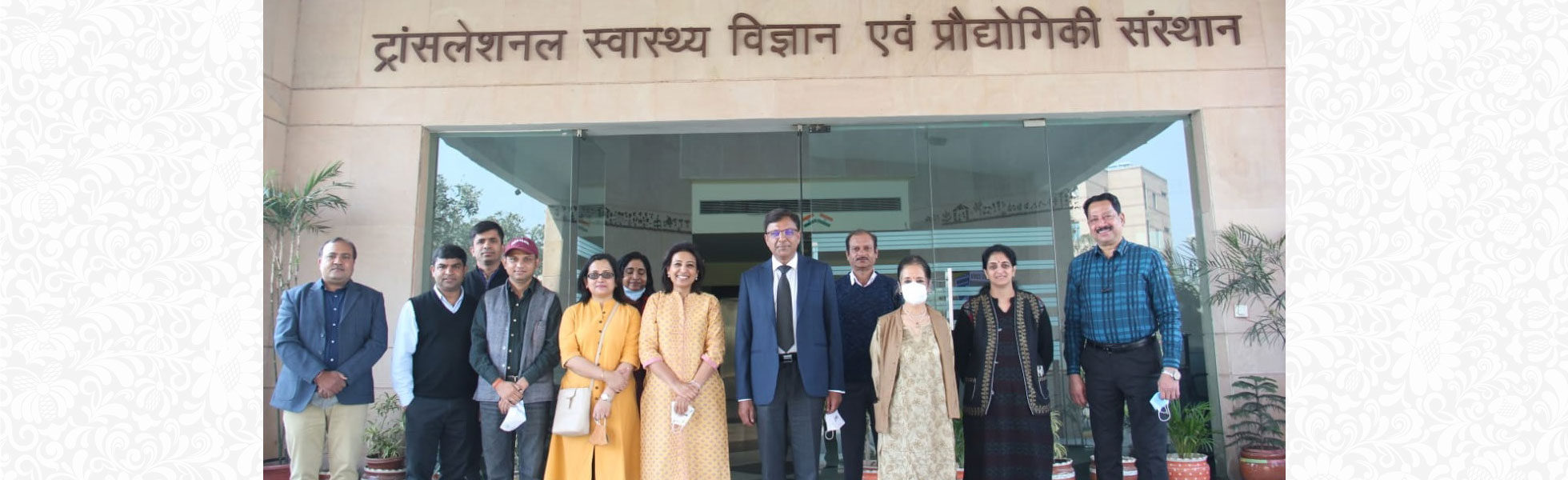 Prof. Pramod Kumar Garg joined as Executive Director of Translational Health Science and Technology Institute (THSTI), Faridabad w.e.f. 14th February 2021