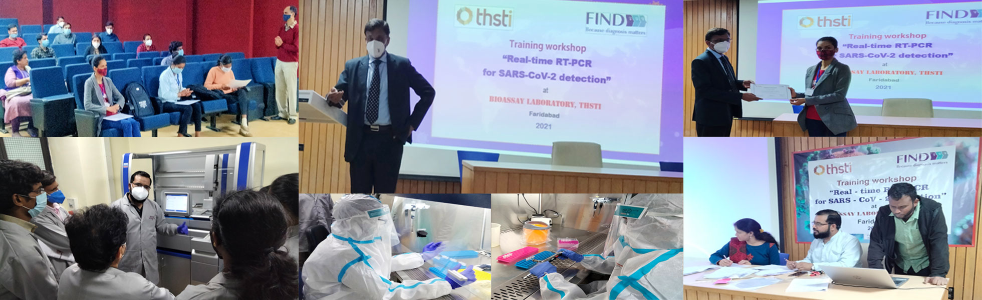 Bioassay Lab completes second Hands-on  FIND-THSTI Real-Time RT-PCR Workshop on SARS-CoV 2 detection